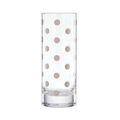 Kate Spade Pearl Place Platinum Vase