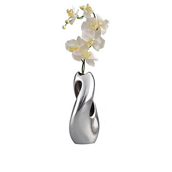 Nambe Pebble Twist Vase