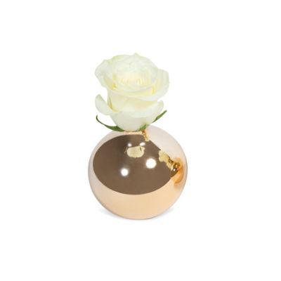8 Oak Lane Gold ROUND VASE
