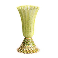 Jay_Strongwater_Sabrina_Feather_Vase_-_Leaf