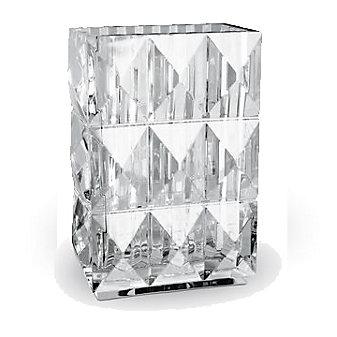 Baccarat Louxor Tall Vase Diamond Surface