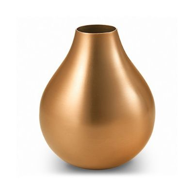 "mary jurek arroyo bud vase with copper plating 4"""