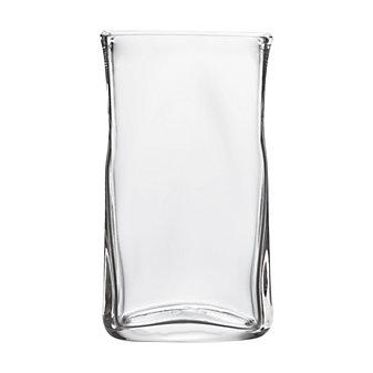 "Simon Pearce Woodbury Rectangular Vase, H 10.25"" X W 5.88"""