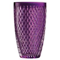 "galway_crystal_amethyst_raindrop_10""_vase"