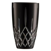 """galway_crystal_noir_longford_10""""_vase"""