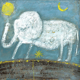 Sugarboo Baby Elephant Art Print
