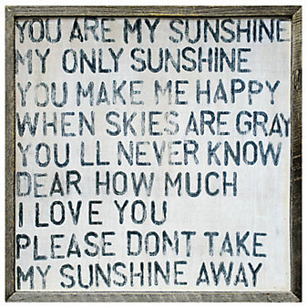 Sugarboo Designs You Are My Sunshine Art Print