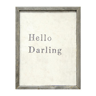 Sugarboo Designs Hello Darling Art Print