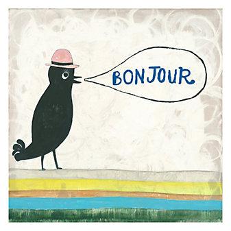 Sugarboo Designs Bonjour Gallery Wrap