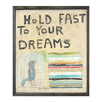 Sugarboo Designs Hold Fast To Your Dream Art Print