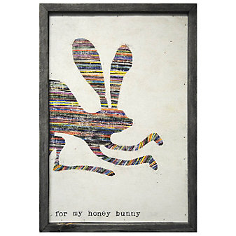 Sugarboo Designs Honey Bunny Art Print