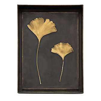 Michael Aram Ginkgo Leaf Shadow Box