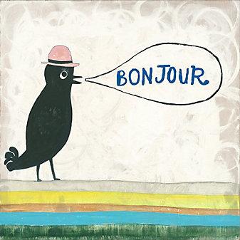 Sugarboo Designs Bonjour Print