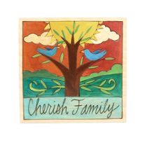 "Sticks_7""_x_7""_Cherish_Family_Wood_Painting"