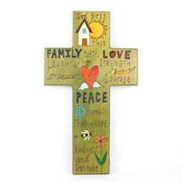 Sticks_Wood_God_Bless_Cross_Plaque