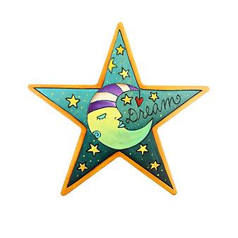 """Sticks Star Dream 10"""" Wood Plaque"""