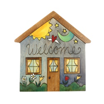 "Sticks_Welcome_10""_Wood_House_Plaque"