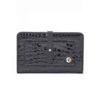 Spartina_Croc_Snap_Wallet_-_Black