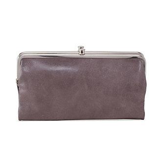 HOBO Lauren Clutch Wallet - Granite