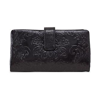 HOBO Issy Wallet - Embossed Black