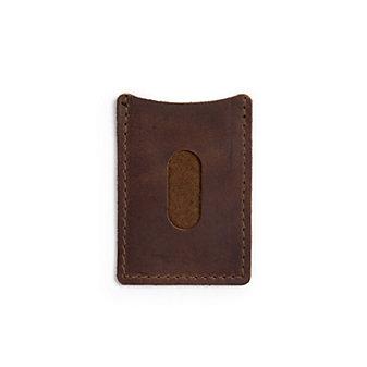 Tour Leather Wallet - Dark Brown
