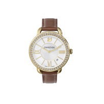 Swarovski_Aila_Day_Brown_Yellow_Gold_Tone_Watch