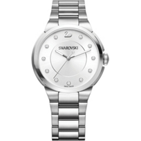Swarovski_City_Simple_White_Bracelet_Watch