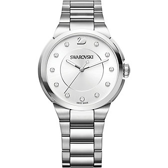 Swarovski City Simple White Bracelet Watch