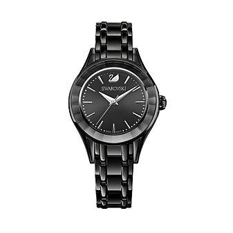 Swarovski Black-Tone Alegria Watch