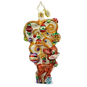 Christopher Radko Deerly Decorated Ornament