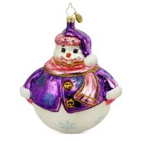 "Christopher_Radko_Pleasantly_Plump_Ornament,_5"""