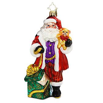 Christopher Radko Magically Yours Santa Ornament