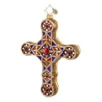 Christopher_Radko_Golden_Scrolls_Ornament