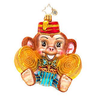 Christopher Radko Monkey Noise Ornament