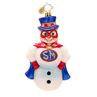 Christopher Radko Frosty Hero Ornament