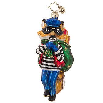 Christopher Radko Foxy Bandit Ornament