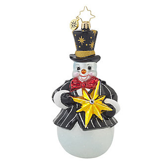 Christopher Radko Frosty-Star Ornament