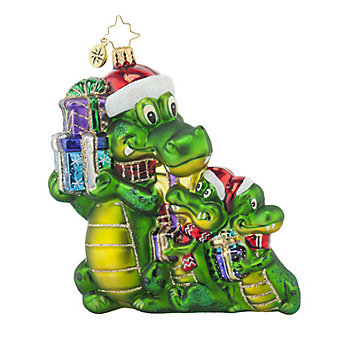 Christopher Radko Gifted Gators Ornaments