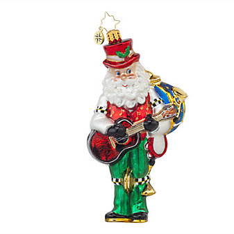 Christopher Radko One Man Band Ornament