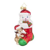 Christopher_Radko_Pip_&_Paw_Ornament