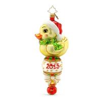 Christopher_Radko_Quack_Rattle_Roll_Ornament