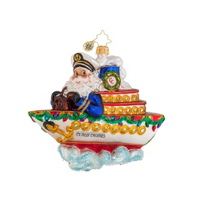 Christopher_Radko_Cruise_Along_with_Clause_Ornament