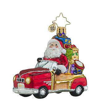 Christopher Radko Vintage Ride Little Gem Ornament