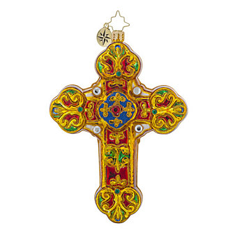 Christopher Radko Baroque Blessing Ornament
