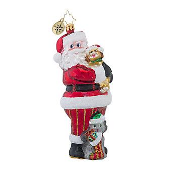 Christopher Radko Christmas Tail Ornament