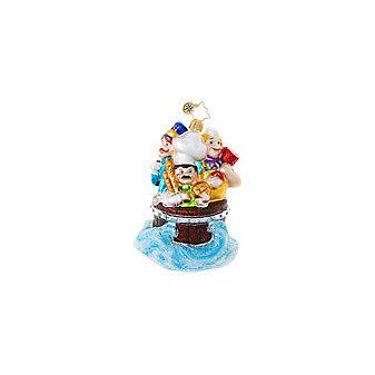 Christopher Radko Scrub-A-Dub-Dub! Ornament