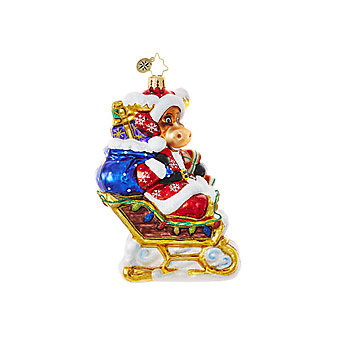 Christopher Radko Off to the Lodge! Ornament