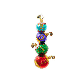 Christopher Radko Stacked Seventeen Ornament