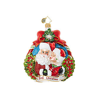 Christopher Radko Merry Housing Market Ornament