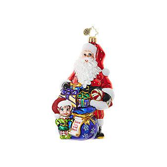 Christopher Radko Knee High Helper Ornament